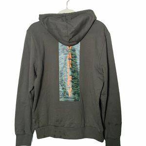 Oakley Camo Fleece Full Zip Hoodie size M